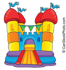 Play and fun theme image 2 - eps10 vector illustration.