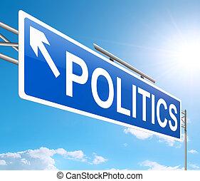 Politics concept.