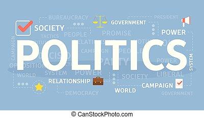 Politics concept illustration.