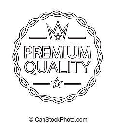 Premium Quality badge icon
