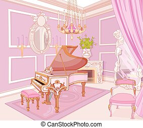 Princess Music Room