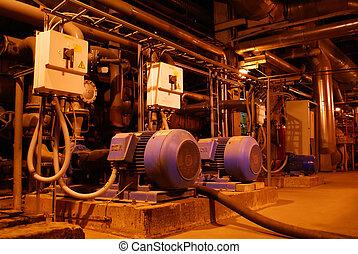 inside of energy plant