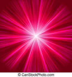 Purple abstract explosion. EPS 8 vector file included