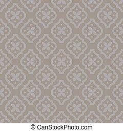Quatrefoil classic seamless vector pattern.