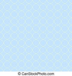 Quatrefoil geometric seamless pattern