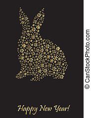 Rabbit shape