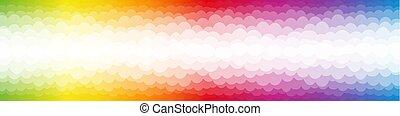 Rainbow Colored Bubbles Color Spectrum Backdrop