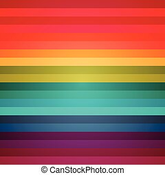 Rainbow colorful stripes abstract background. RGB EPS 10 vector illustration