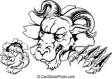 Ram claw breakthrough