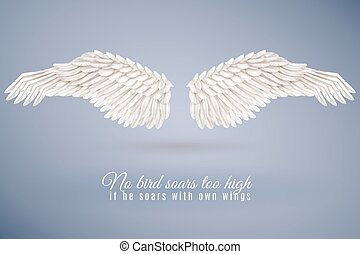 Realistic Bird Wing Set