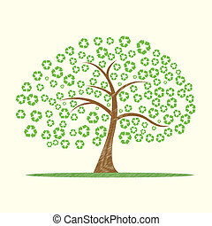 recycle tree