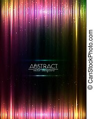 Red glowing lights vector abstract background