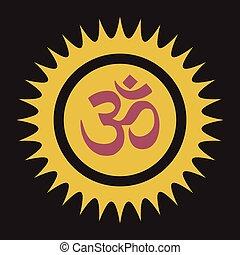 Spiritual Om Symbol