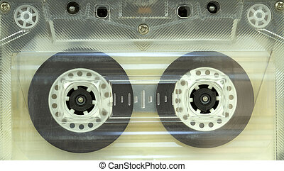 Retro audio cassette