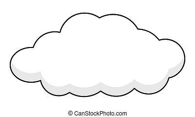 Retro Cloud Banner