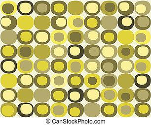 Retro seamless square pattern