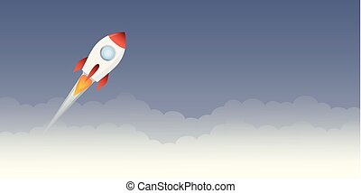 rocket launch into space