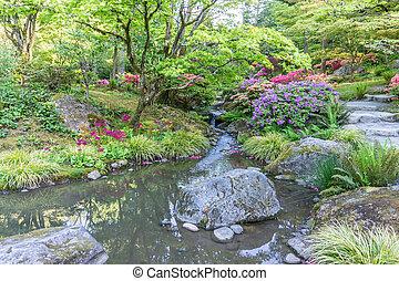 Rocky Garden Stream 3