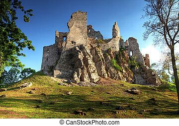 Ruin of Castle Hrusov