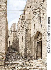Image of ruins in Birkat al mud in Oman