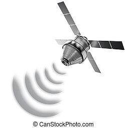 satellite isolated