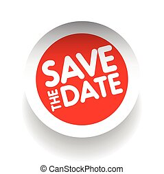 Save the date label vector
