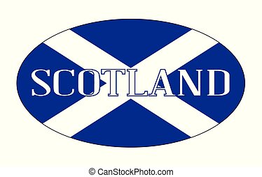Scotland Isolated Rugby Ball