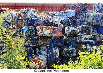 scrap metal scrap-iron junk