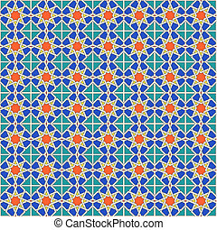 Seamless Moroccan pattern background