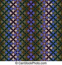 Seamless pattern of squares