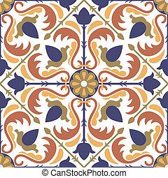 Seamless Arabic style pattern