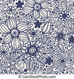 Seamless texture with flowers. Seamless pattern can be used for wallpaper, pattern fills, web page background, surface textures.