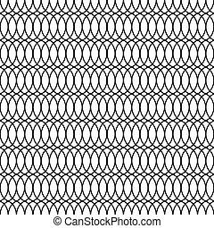 Seamless Trellis Lattice Vintage Pattern Background