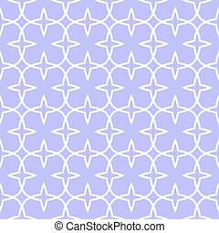 Seamless vintage pattern with quatrefoils.