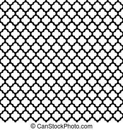 Seamless Vintage Trellis Pattern
