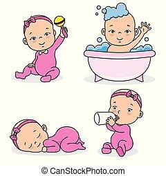 set baby girl