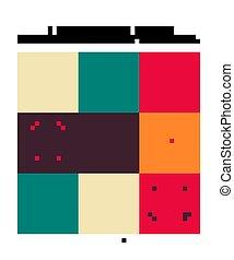 Set of Seamless moroccan pattern.