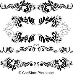 set of symmetric ornaments 2
