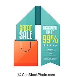 Shopping Bag Ribbon Copyspace