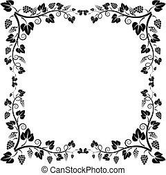 frame vine