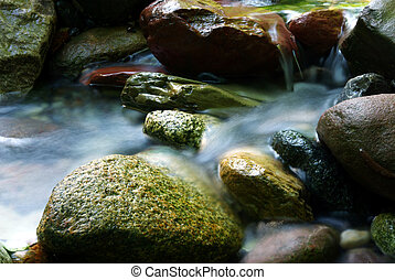 Silky water stream 2