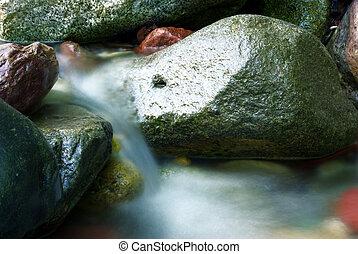 Silky water stream