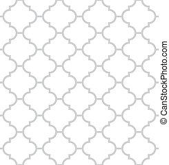 Simple geometric monochrome vector seamless pattern