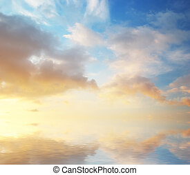 Sky background nature