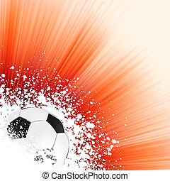 Soccer background with copyspace. EPS 8