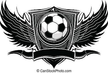 Soccer Ball Ornate Graphic Vector