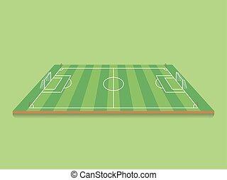 Soccer, Football field.