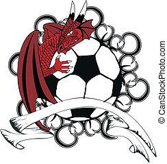 soccer medieval dragon tattotshirt3