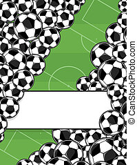 soccer playing field background