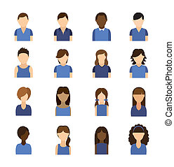 Social network design over white background, vector illustration